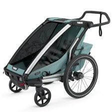 Thule Chariot Cross 1 - Multisport Stroller and Bike Trailer - Alaska