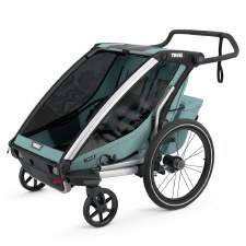 Thule Chariot Cross 2 - Multisport Stroller and Bike Trailer - Alaska