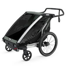 Thule Chariot Lite 2 - Multisport Stroller and Bike Trailer - Agave
