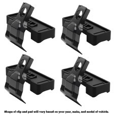 Thule 5001 Evo Clamp Fit Kit