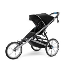 Thule Glide 2 Jogging Stroller - Single - Jet Black