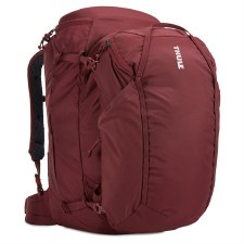 Thule Landmark 60 Litre Women's Backpacking and Travel Backpack - Dark Bordeaux