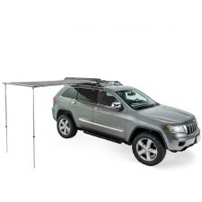 Thule OverCast Awning 4.5 Foot - Roof Mount - Haze Gray