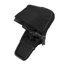 Thule Sleek Sibling Seat - Midnight Black with Black Frame