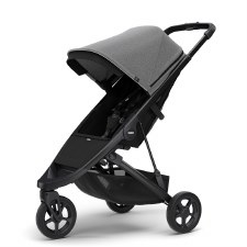 Thule Spring Stroller - Grey Melange with Black Frame