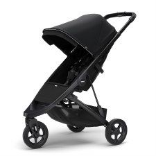 Thule Spring Stroller - Midnight Black with Black Frame
