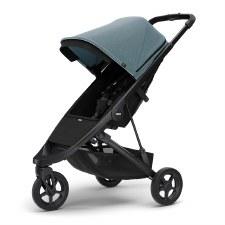 Thule Spring Stroller - Teal Melange with Black Frame