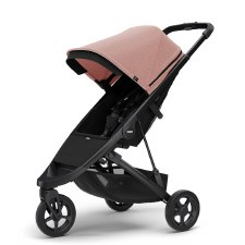 Thule Spring Stroller - Misty Rose Melange with Black Frame