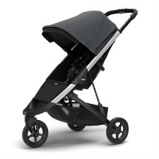 Thule Spring Stroller - Shadow Grey with Silver Frame