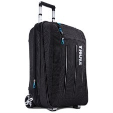 Thule Crossover 45 Litre Rolling Upright Carry On with Suitor - Black