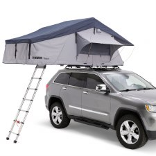 Thule Tepui 4 with Annex - Haze Gray - Explorer Series
