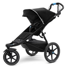 Thule Urban Glide 2 Jogging Stroller - Single - Jet Black with Black Frame