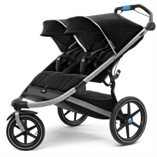 Thule Urban Glide 2 - Jogging Stroller - Double - Black