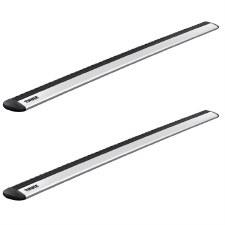 Thule WingBar Evo 118 47 Inch Silver