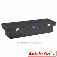 "UWS TBS-72-BLK 72"" Single Lid Crossover Truck Toolbox Black"