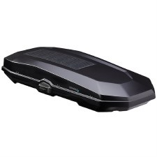Yakima CBX Solar 16 - Ski and Cargo Box - Black Textured