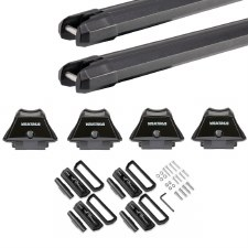Yakima SkyLine Heavy Duty Roof Rack for Fixed Points and Tracks - Black