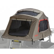 Yakima SkyRise HD Roof Top Tent - Medium - 3 Person - Tan and Red
