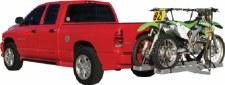 Rage Powersports AMC-600-2 Aluminum Hitch Mount Motorcycle Carrier