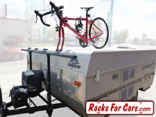 ProRac 2 Bike Tent Trailer A-Frame Rack