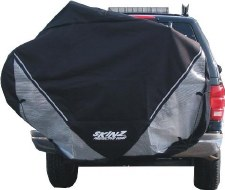 Skinz RTC100 Transparent Hitch Bike Cover