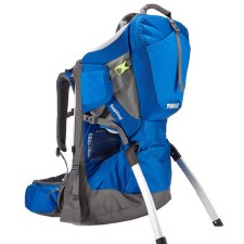 Thule Sapling Child Carrier - Slate and Cobalt