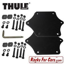 Thule Xadapt 11 - Fits 834 Hull-a-Port to T-Track Bars