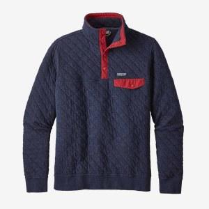 Men's Cotton Quilt Snap-T Pullover