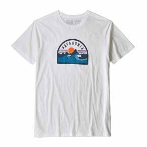 Men's Boardie Badge Organic Cotton T-Shirt