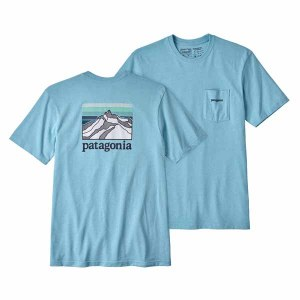 Men's Line Logo Ridge Pocket Responsibili-Tee