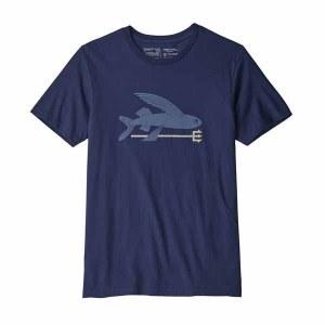 Men's Flying Fish Organic Cotton T-Shirt