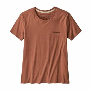 Women's Free Hand Fitz Roy Organic Cotton Crew T-Shirt