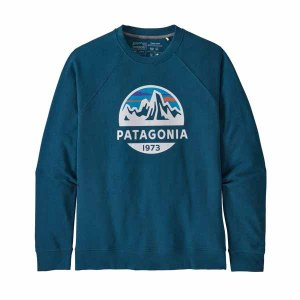 Men's Fitz Roy Scope Organic Cotton Crew Sweatshirt