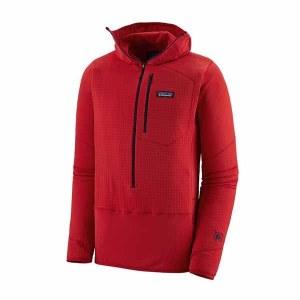 Men's R1 Fleece Pullover Hoody
