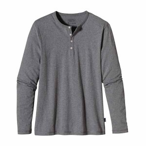 Men's Long-Sleeved Daily Henley