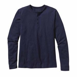 Men's Long-Sleeved Daily Henley
