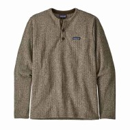 Men's Better Sweater Fleece Henley Pullover