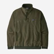 Men's Shearling Fleece Button Pullover