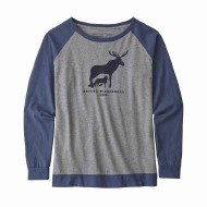 Women's Long-Sleeved Defend Wilderness Responsibili-Tee
