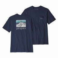Men's Line Logo Ridge Pocket Responsibili-Tee