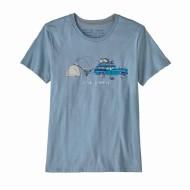 Women's Live Simply Lounger Organic Cotton Crew T-Shirt