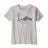 Women's Live Simply Lounger Organic Cotton Crew T-Shirt