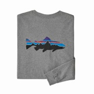 Men's Long-Sleeved Fitz Roy Trout Responsibili-Tee