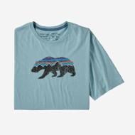 Men's Fitz Roy Bear Organic Cotton T-Shirt