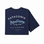 Men's Framed Fitz Roy Trout Organic Cotton T-Shirt