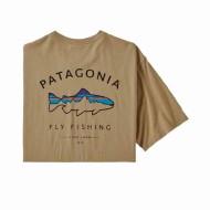 Men's Framed Fitz Roy Trout Organic Cotton T-Shirt