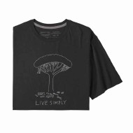 Men's Live Simply Midleaf Crisis Organic Cotton T-Shirt