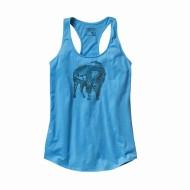 Women's Illustrated Buffalo Cotton Tank Top