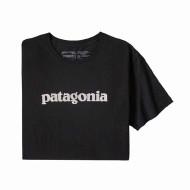 Men's Text Logo Organic Cotton T-Shirt