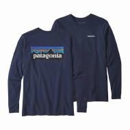 Men's Long-Sleeved P-6 Logo Responsibili-Tee